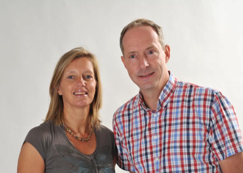 Hans-Jurgen Mager en Marjolein Rentinck